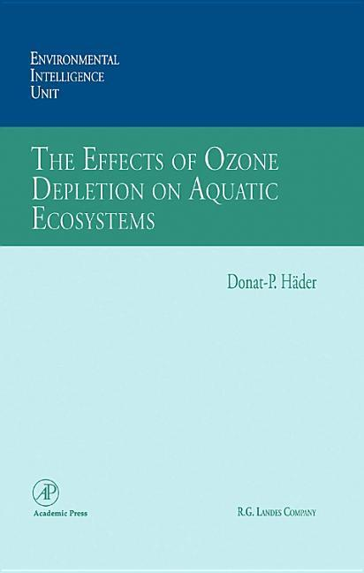 The Effects of Ozone Depletion on Aquatic Ecosystems als Buch (gebunden)