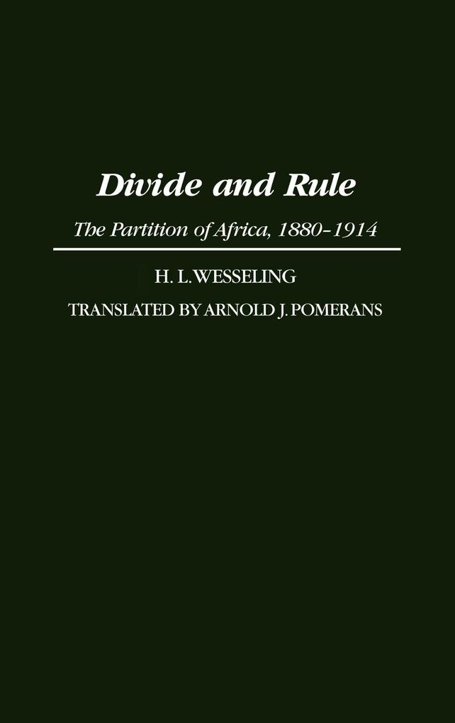 Divide and Rule als Buch (gebunden)
