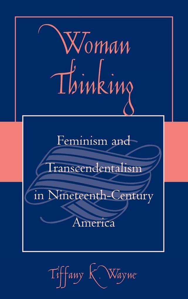 Woman Thinking als Buch (gebunden)
