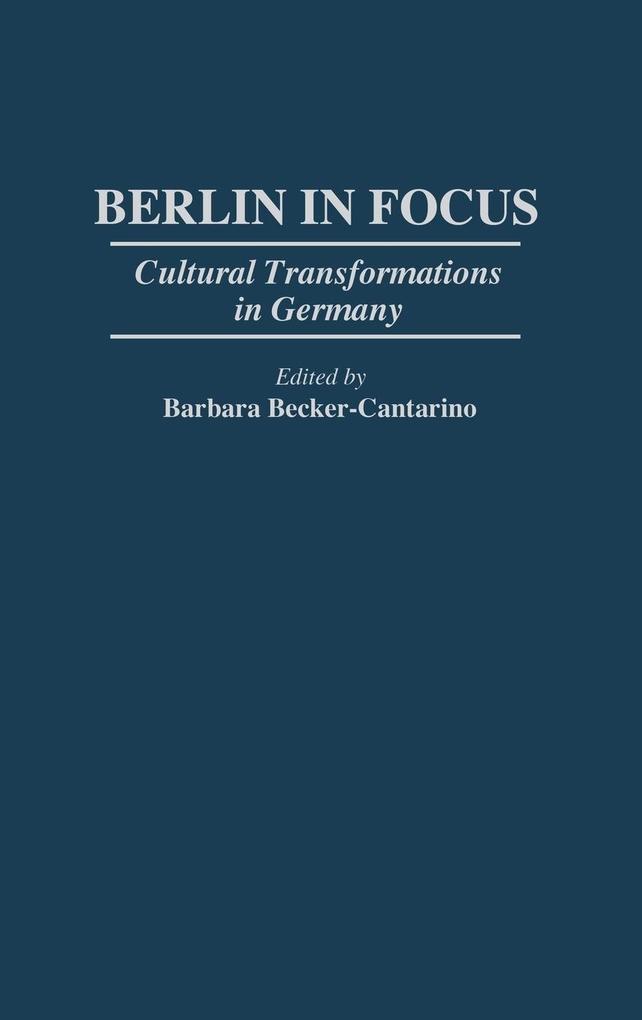 Berlin in Focus als Buch (gebunden)