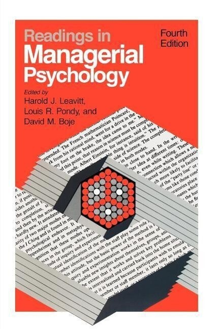 Readings in Managerial Psychology 4e als Taschenbuch