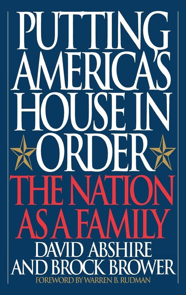 Putting America's House in Order als Buch (gebunden)