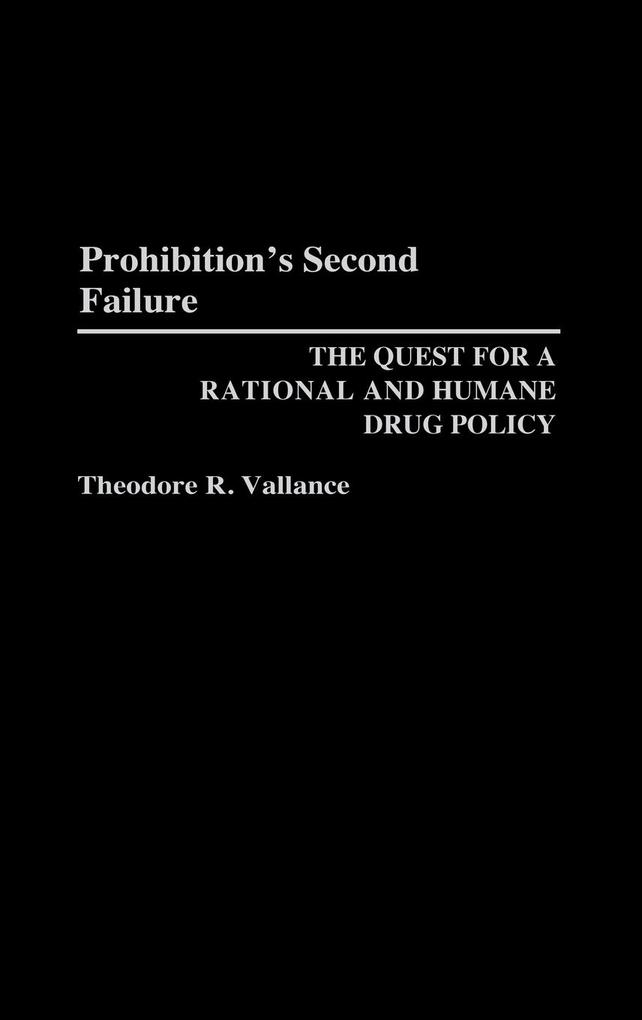 Prohibition's Second Failure als Buch (gebunden)