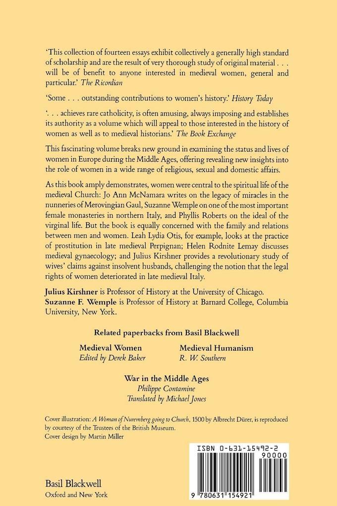 Women of the Medieval World als Taschenbuch