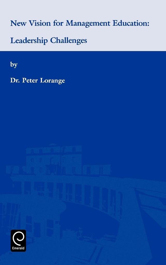 New Vision for Management Education als Buch (gebunden)