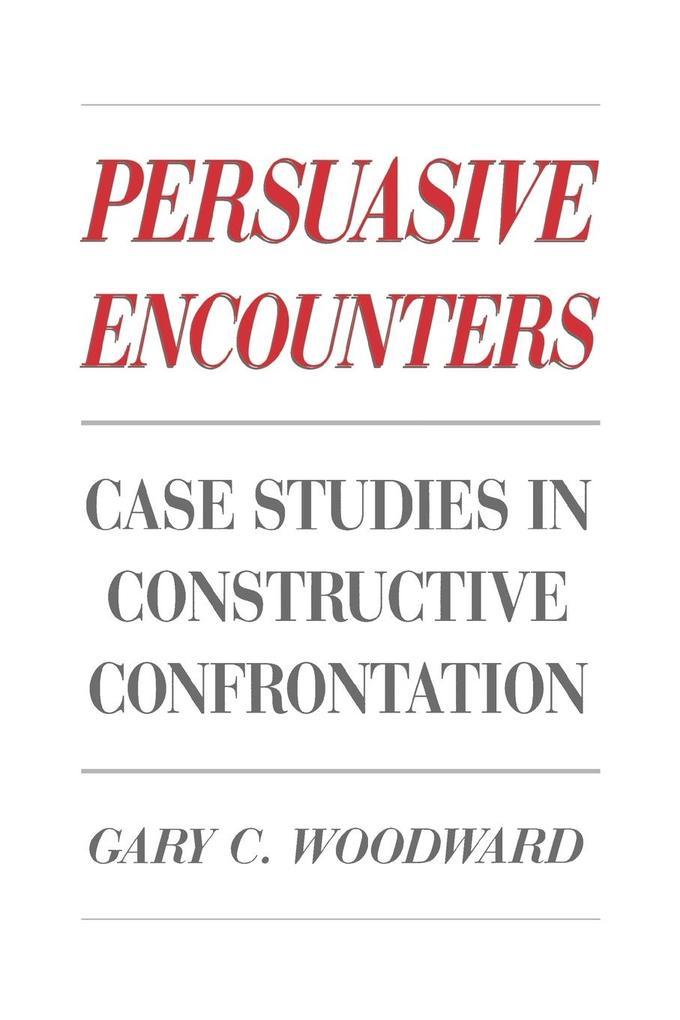 Persuasive Encounters als Taschenbuch