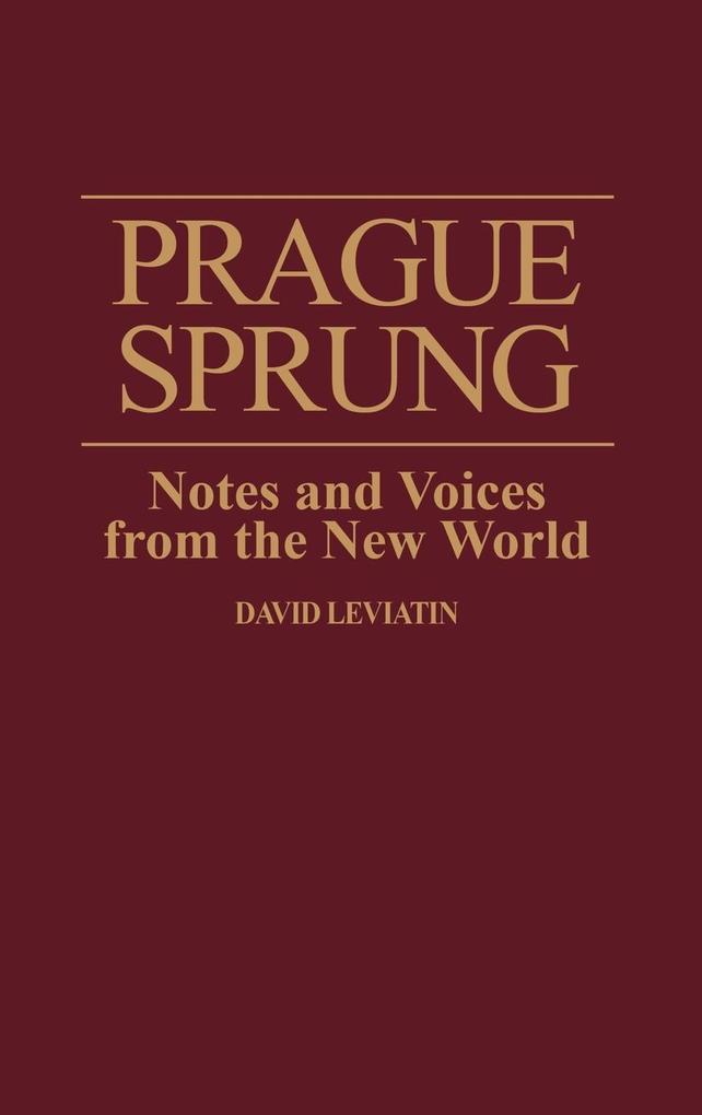 Prague Sprung als Buch (gebunden)