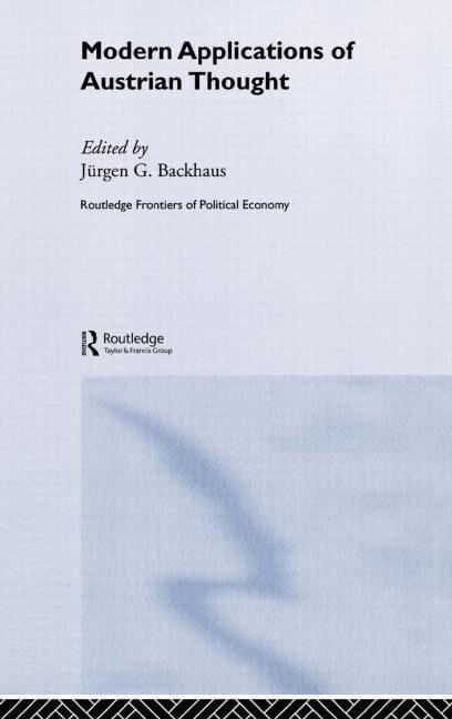 Modern Applications of Austrian Thought als Buch (gebunden)