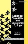 Ecological Versatility and Community Ecology