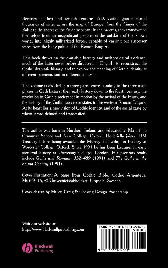 THE GOTHS   PEU als Buch (gebunden)