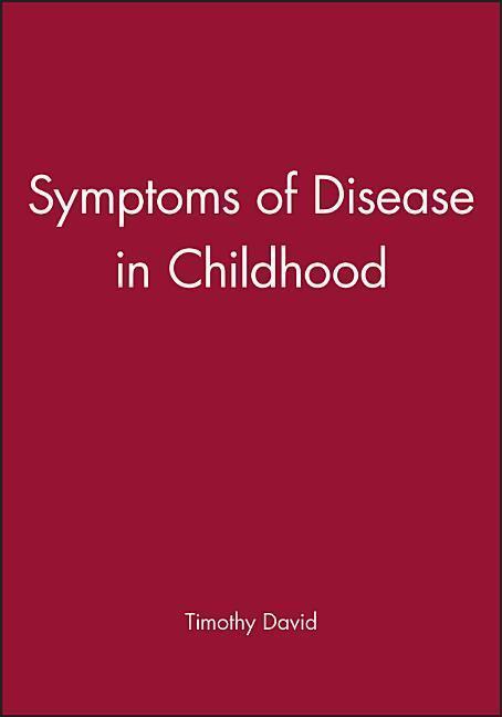 Symptoms of Disease in Childhood als Taschenbuch