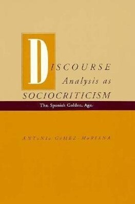 Discourse Analysis as Sociocriticism als Taschenbuch