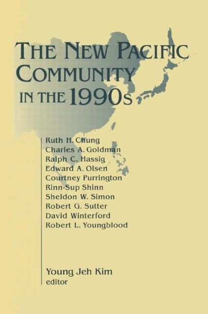 The New Pacific Community in the 1990s als Taschenbuch