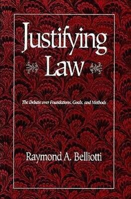 Justifying Law als Taschenbuch