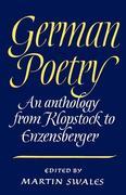 German Poetry