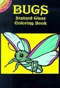 Bugs Stained Glass Coloring Book