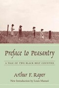 Preface to Peasantry: A Tale of Two Black Belt Counties