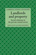 Landlords and Property: Social Relations in the Private Rented Sector