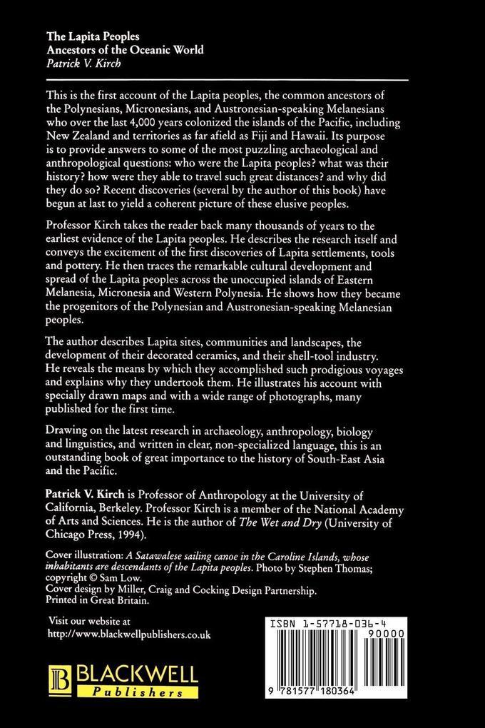 The Lapita Peoples als Taschenbuch von Patrick ...