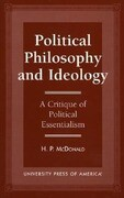 Political Philosophy and Ideology: A Critique of Political Essentialism