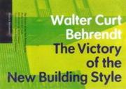 The Victory of the New Building Style