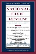 National Civic Review V90 3 Fa