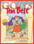 God's Ten Best Coloring Book