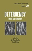 Detergency: Theory and Technology