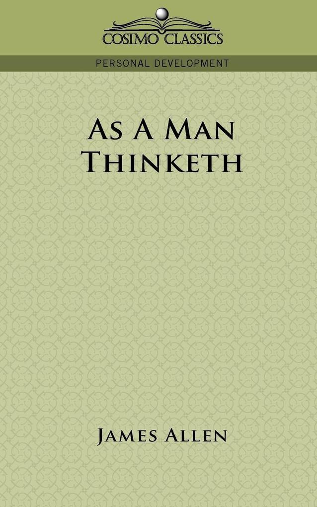 As a Man Thinketh als Buch