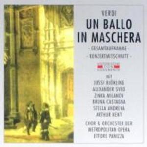 Un Ballo In Maschera (GA) als CD