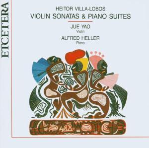 VIOLIN SONATAS & PIANO SUITES als CD