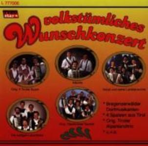 Volkstümliches Wunschkonzert als CD