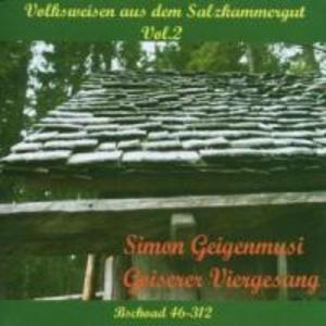 Volksweisen aus dem Salzkammergut 2 als CD