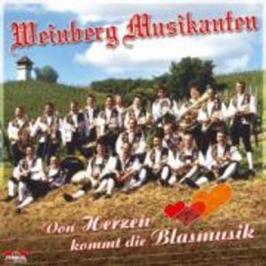 Von Herzen Kommt Die Blasmusik als CD
