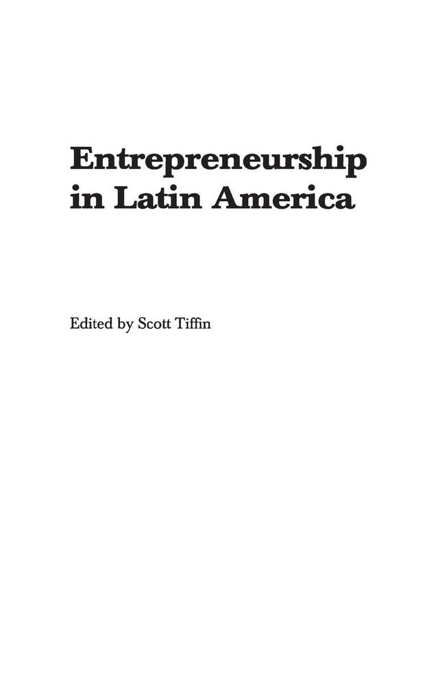 Entrepreneurship in Latin America: Perspectives on Education and Innovation als Buch
