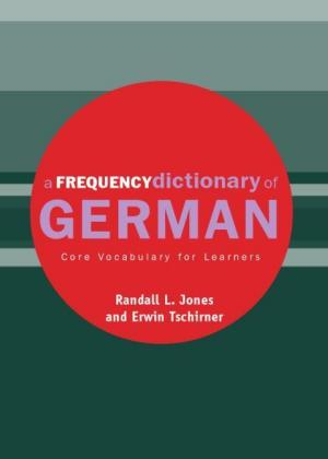 A Frequency Dictionary of German als Taschenbuch