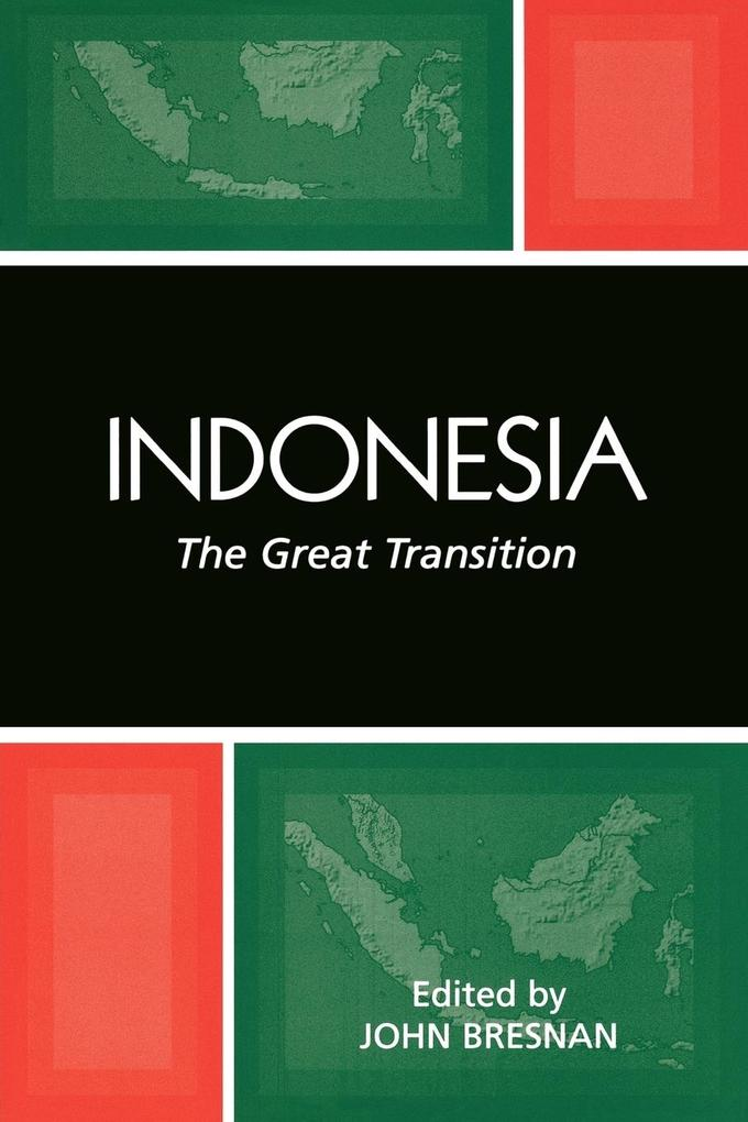 Indonesia: The Great Transition als Taschenbuch