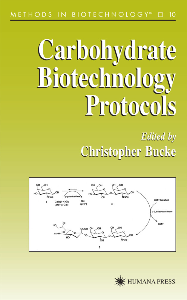 Carbohydrate Biotechnology Protocols als Buch