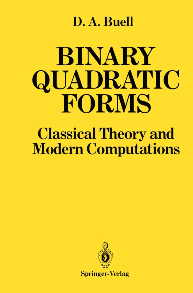 Binary Quadratic Forms als Buch