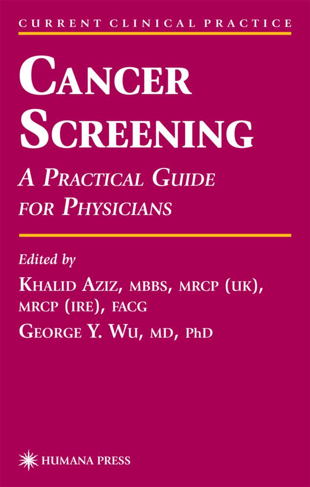 Cancer Screening als Buch
