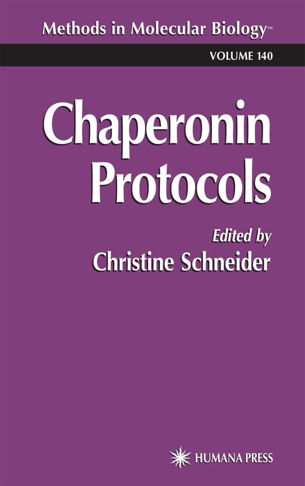 Chaperonin Protocols als Buch