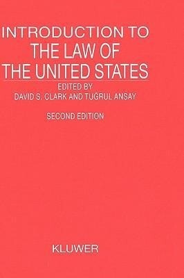 Introduction to the Law of the United States, Second Revised Edition als Buch