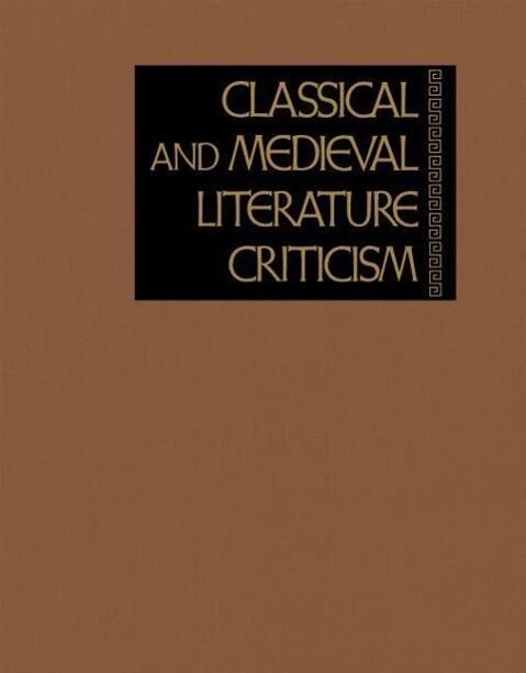 Clscl Medvl Lit Crit 43 als Buch