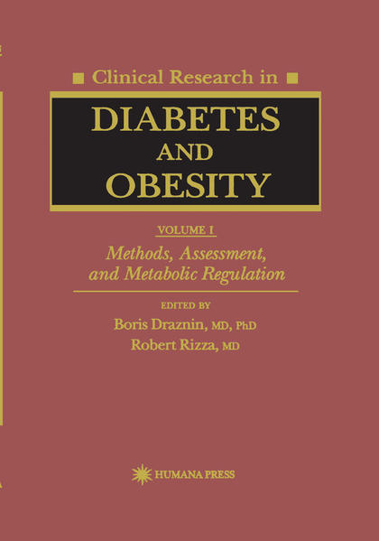 Clinical Research in Diabetes and Obesity, Volume 1 als Buch