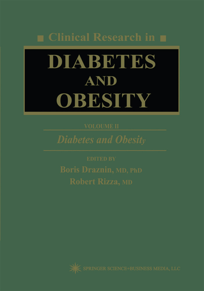 Clinical Research in Diabetes and Obesity, Volume 2: Diabetes and Obesity als Buch