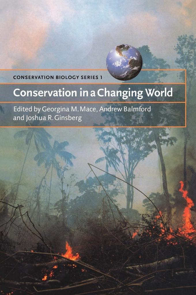 Conservation in a Changing World als Taschenbuch