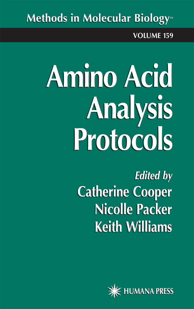Amino Acid Analysis Protocols als Buch