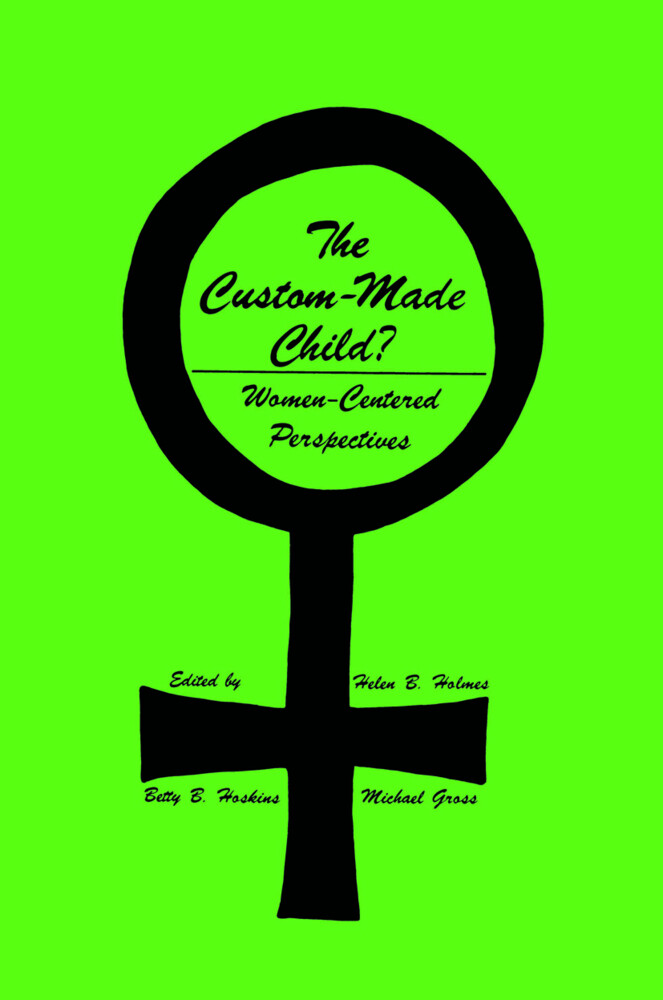 The Custom-Made Child? als Buch