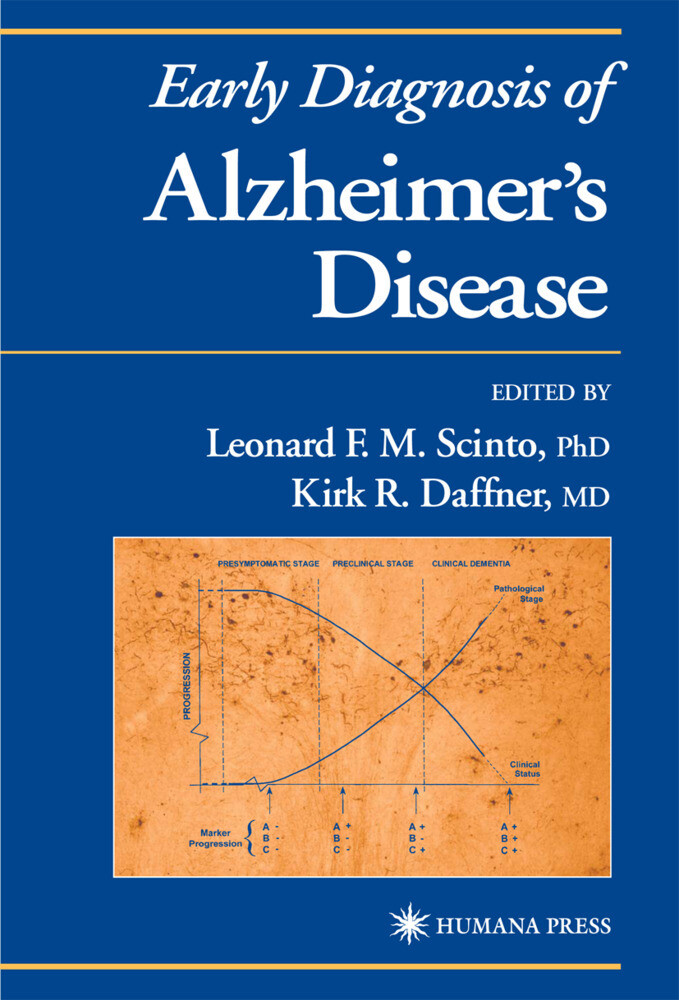 Early Diagnosis of Alzheimer's Disease als Buch