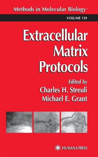 Extracellular Matrix Protocols als Buch